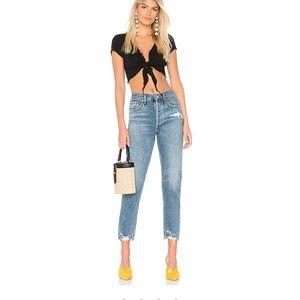 Agolde Jaime High Rise Classic Jeans